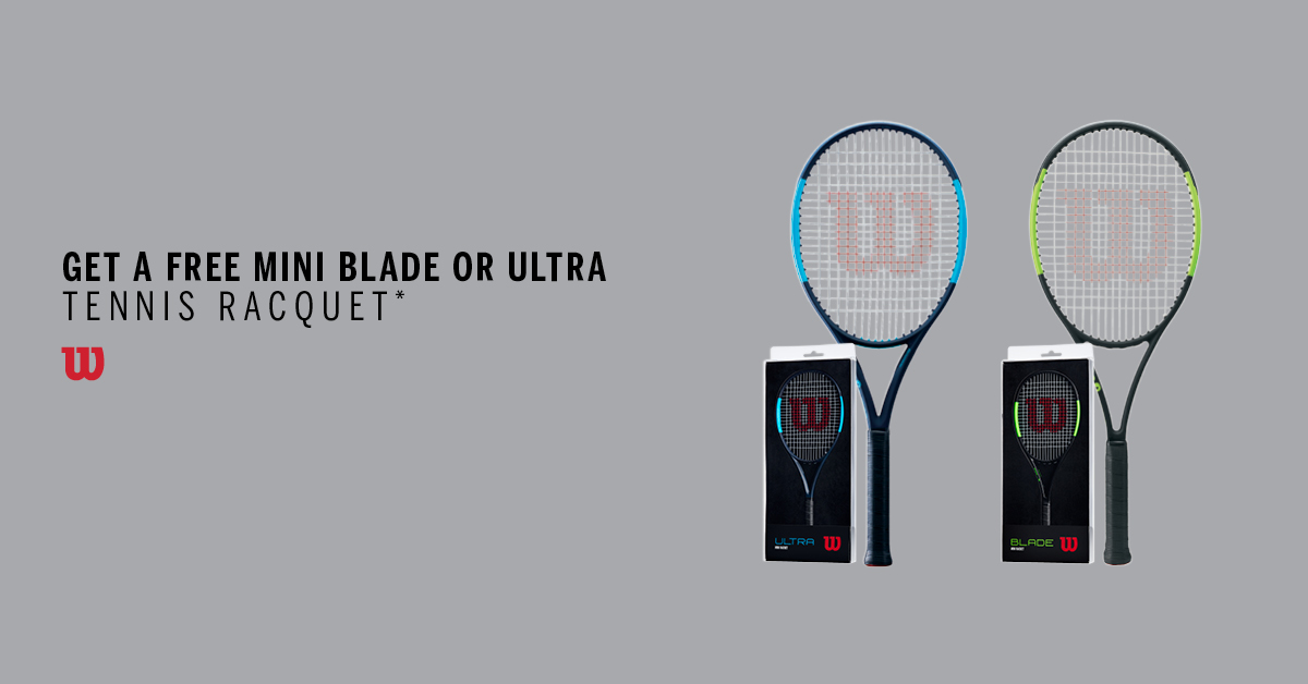 mini racquet promo